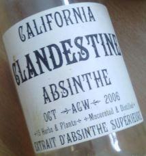 California Clandestine Absinthe 2006-10 a