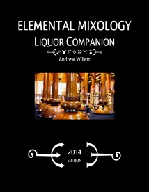 Elemental Mixology Liquor Companion cover (2014)