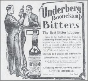 Underberg Boonekamp Bitters