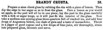 Brandy Crusta