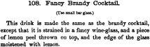 Fancy Brandy Cocktail