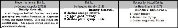 Brandy Cocktails