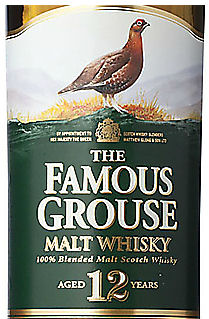 Famouse Grouse 12-year Blended Malt Scotch Whisky