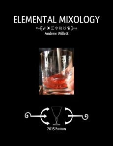 Elemental Mixology 2015 Edition cover (front)