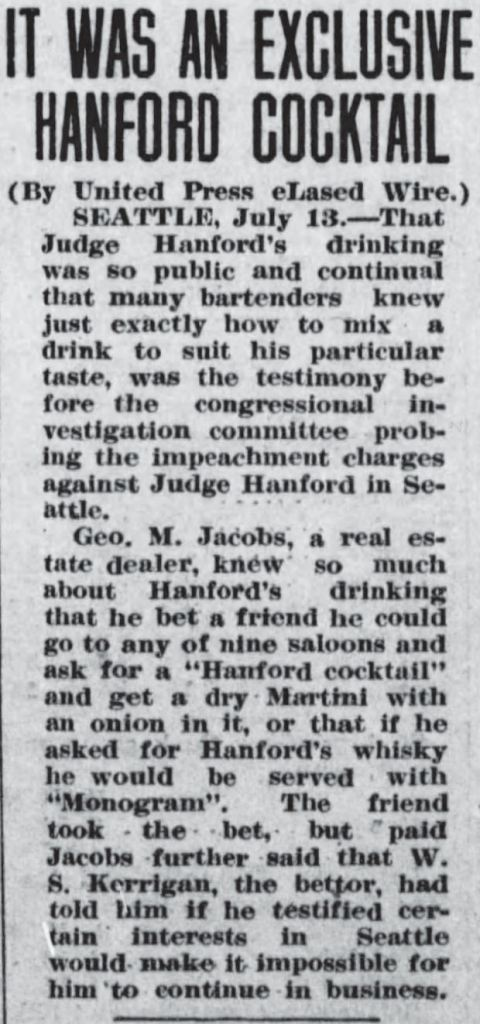 Hanford Cocktail 19120713