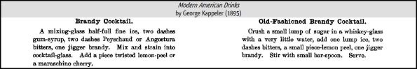 337 Modern and Old-fashioned Cocktails G