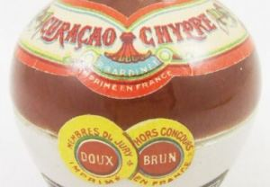 Bardinet Curaçao Chypre Doux Brun detail
